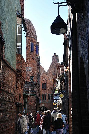 Böttcherstraße, Alte Neustadt, Bremen, Bremen, Deutschland